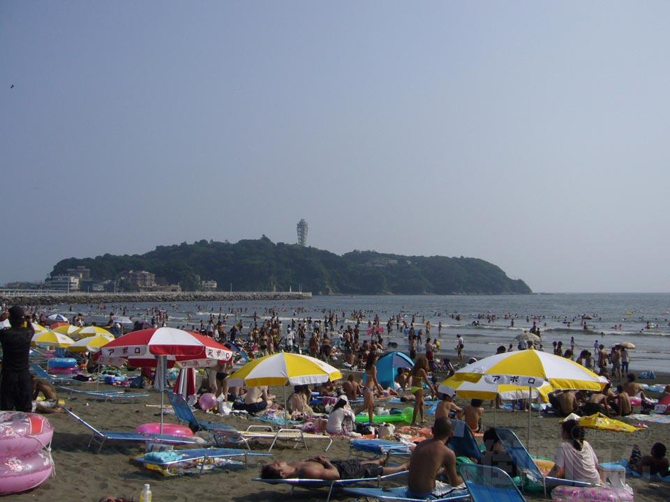 湘南の人気海水浴場その2は江ノ島