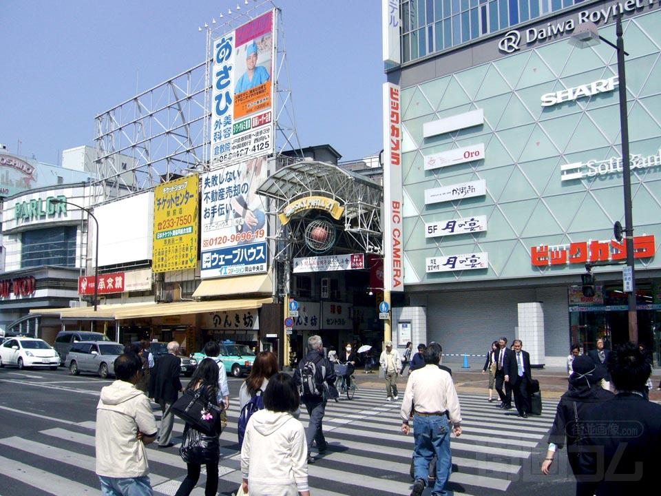 岡山駅前商店街(スカイモール ...