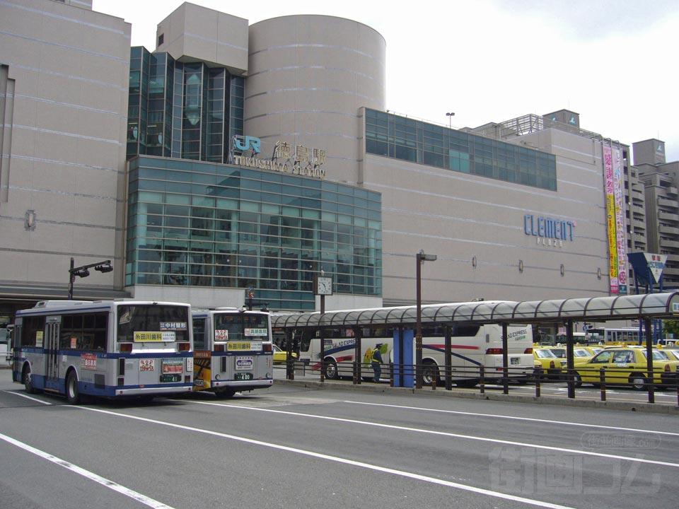 徳島駅周辺近隣の街並画像関連記事