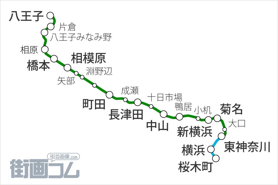 横浜 線 路線 図 東急東横線 路線図 ジョルダン